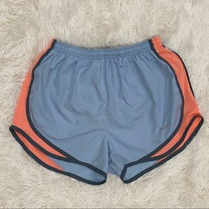Nike Pastel Blue Running Shorts